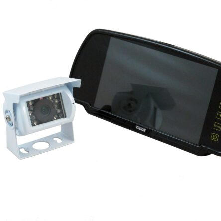 Ranger 410W Weaco adapter – 7″ Clip-over Mirror Monitor / Roof mounted Camera System